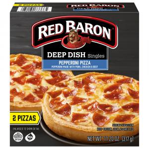 Red Baron Deep Dish Singles Pepperoni Pizza