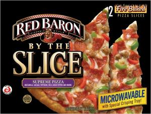 Red Baron By The Slice Supreme Pizza