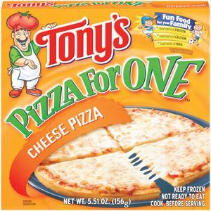 Tony's Cheese Microwaveable Pizza For One