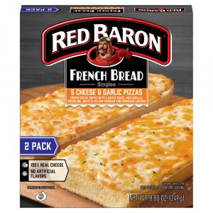 Red Baron French Bread 5-cheese & Garlic Pizza