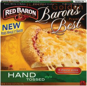 Red Baron Baron's Best Hand Tossed 4 Cheese Pizza