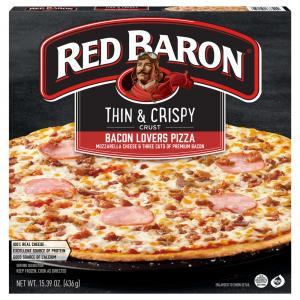 Red Baron Thin & Crispy Crust Bacon Lover's Pizza