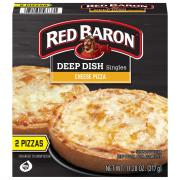 Red Baron Deep Dish Singles Cheese Pizza