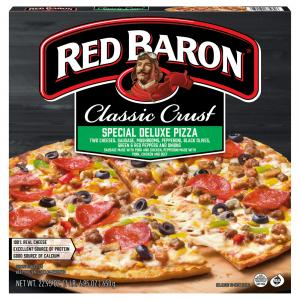 "Red Baron 12"" Special Deluxe Pizza"