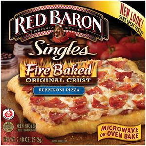 Red Baron Fire Baked Crust Pepperoni Pizza