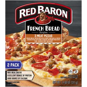 Red Baron Three Meat French Bread Pizza