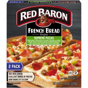 Red Baron French Bread Supreme Pizza