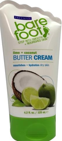 Bare Foot Butter Cream Lime + Coconut