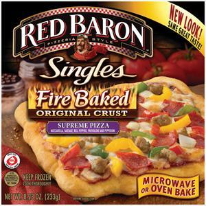 Red Baron Fire Baked Crust Supreme Pizza
