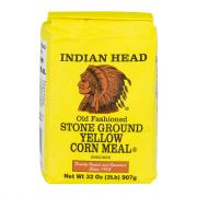 Indian Head Old Fashioned Stone Ground Yellow Corn Meal