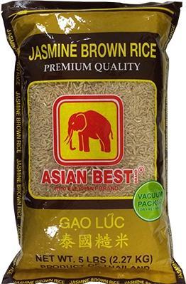 Asian Best Thai Jasmine Brown