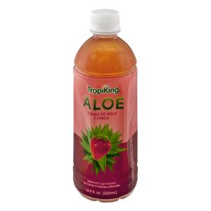 Strawberry and Aloe Vera Juice Drink