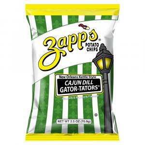 Zapps Cajun Gatorators Kettle Potato Chips