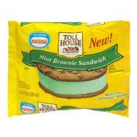 Nestle Toll House Mint Brownie Ice Cream Bar