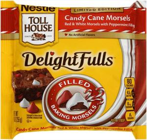 Nestle Toll House Delightfulls Candy Cane Morsels