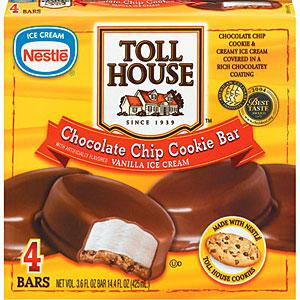 Nestle Toll House Cookie Ice Cream Sandwiches