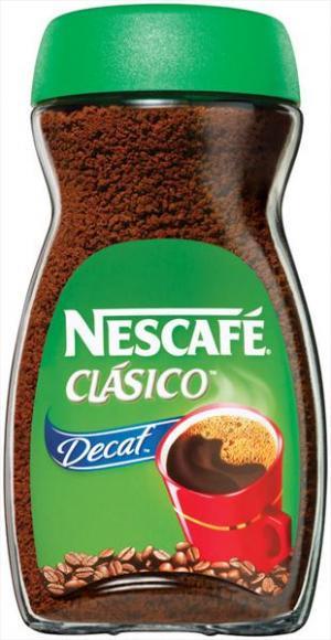 Nescafe Clasico Pure Instant Decaffeinated Coffee