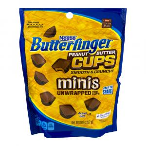Butterfinger Peanut Butter Cups Minis Unwrapped