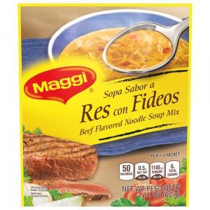 Maggie Beef Noodle Soup Mix