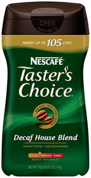 Nescafe Taster's Choice Decaf Coffee