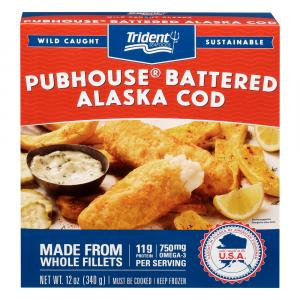 Trident Seafoods Pubhouse Cod