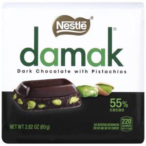 Damak Dark Chocolate With Pistachios