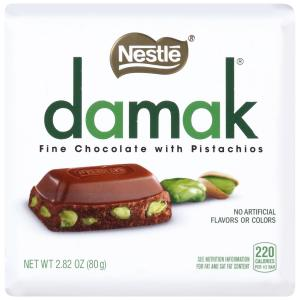 Damak Fine Chocolate With Pistachios