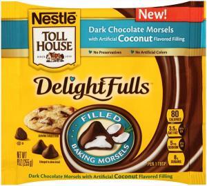 Nestle Toll House Delightfulls Dark Coconut Morsels