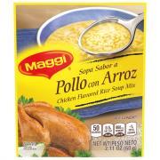Maggie Chicken Rice Soup Mix
