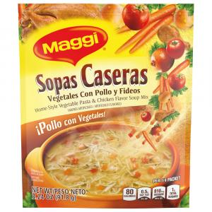 Maggi Vegetable Pasta & Chicken Soup Mix