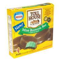 Nestle Toll House Cookie Mint Ice Cream Bars