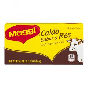 Maggi Beef Bouillon Tablets