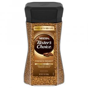 Nescafe Taster's Choice French Roast Glass Jar