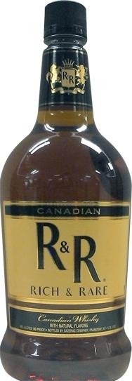 Canadian Rich & Rare Whiskey