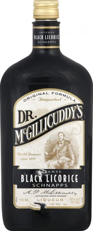 Dr. McGillcuddy's Black Licorice