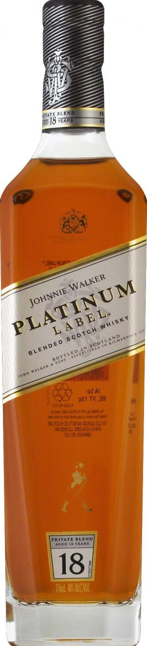 Johnnie Walker Platinum Label Scotch Whiskey