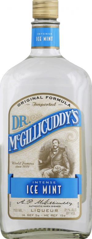 Dr. McGillicuddy's Intense Ice Mint Liqueur
