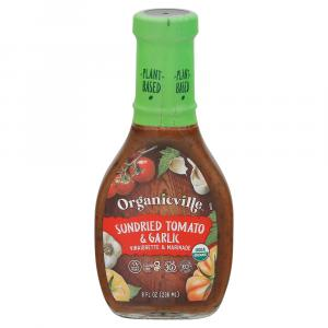Organicville Sun Dried Tomato Garlic Salad Dressing