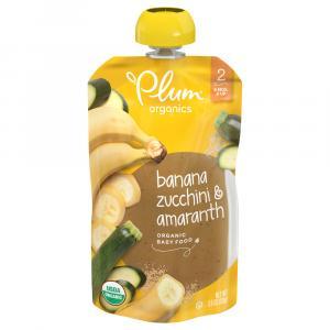 Plum Organics Zucchini, Banana & Amaranth