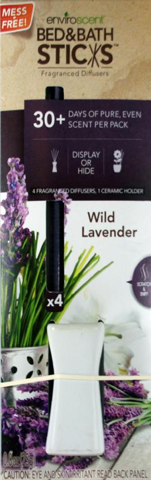Enviroscent Bed & Bath Sticks Fragranced Diffusers
