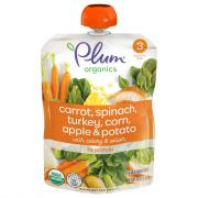 Plum Organics Stage 3 Sweet Corn & Carrot with Turkey + Sage