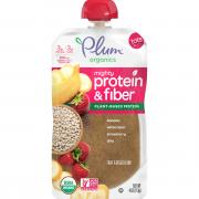 Plum Organics Mighty Protein & Fiber Banana, White Bean,