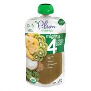 Plum Organics Mighty 4-Spinach Kiwi Barley Greek Yogurt