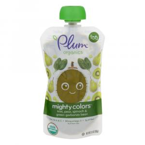 Plum Organics Tots Mighty Colors Kiwi, Pear, Spinach
