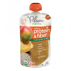 Plum Organics Mighty Protein & Fiber Fruit Veggie Blend