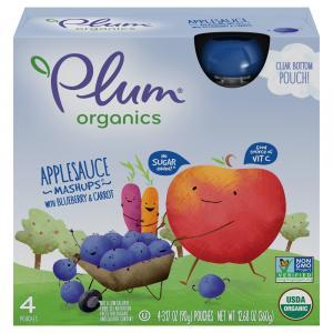 Plum Organics Mashups Blueberry Blitz!