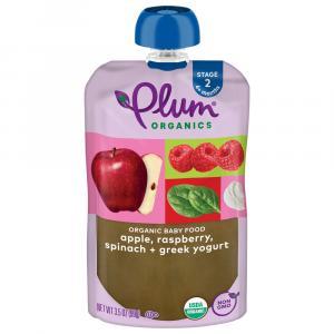 Plum Organics Raspberry, Spinach & Greek Yogurt