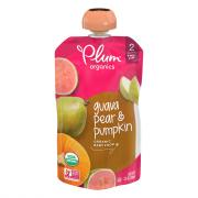 Plum Organics Stage 2 Guava, Pear, and Pumpkin