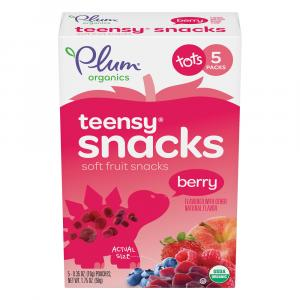 Plum Organics Teensy Fruits Berry