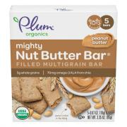 Plum Organics Mighty Nut Butter Bar Peanut Butter